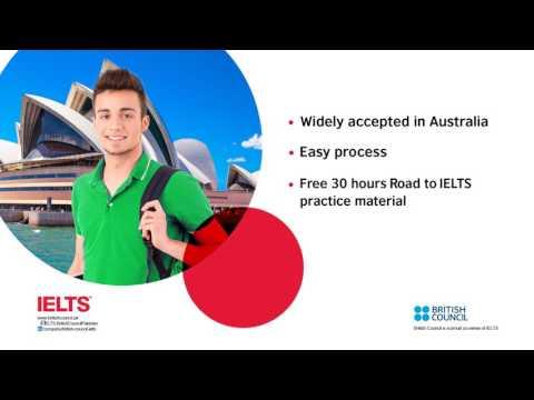 British Council IELTS for Australia