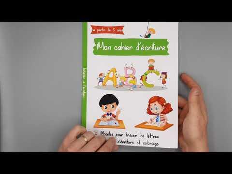 mon-cahier-d'écriture:-cahier-pour-apprendre-à-écrire-l'alphabet---pour-enfant-à-partir-de-3-ans