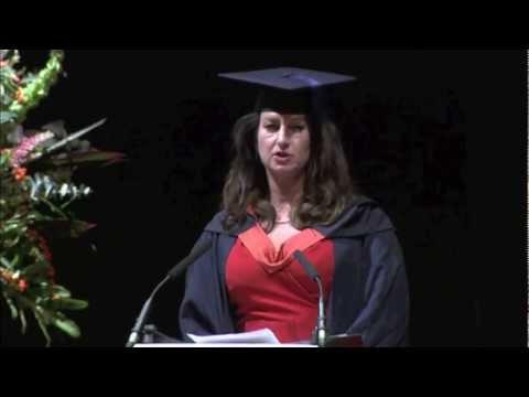 UEL Royal Docks Business School Graduation 2011 - Vote of Thanks