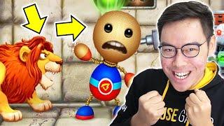 MARI MENY1KS4 SI BUDDY !! - Kick The Buddy screenshot 2