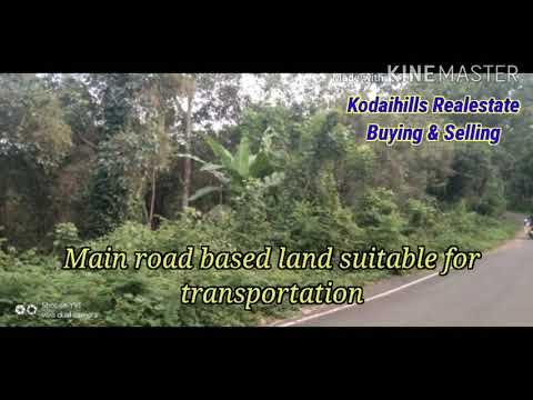 40 Acre Agriculture Land For Sale In Kodaikanal Mountain Range