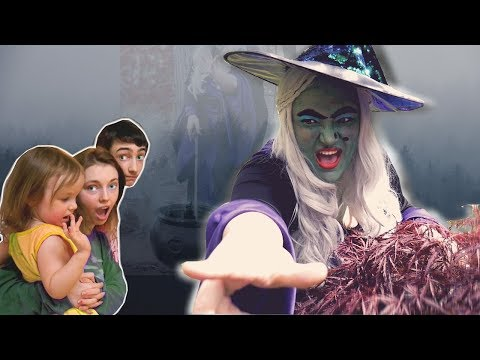 The Creepy Witch is After Us! - Weeefamfun