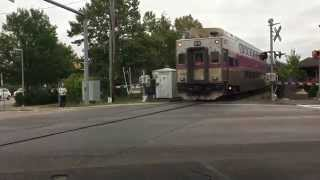 MBTA Rush Hour in Bridgewater, MA