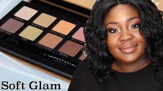 Soft Glam Palette Tutorial | Dark Skin