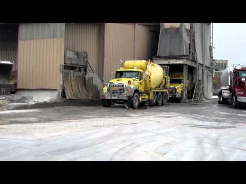 NYCON Supply Mack Granite concrete trucks