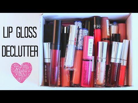 KonMari Lip Gloss Declutter