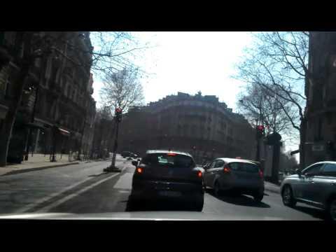 Driving in paris
