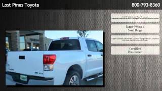 2012 Toyota Tundra 4WD CrewMax Short Bed 5.7L FFV  - Elgin