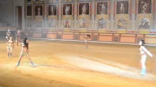 Шоу римских гладиаторов в Абрау-Дюрсо
