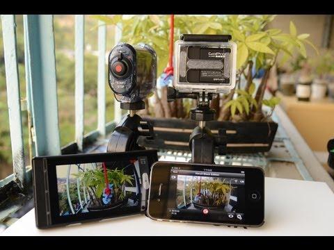 APP測試 GoPro Hero 3 Black Edition V.S Sony HDR-AS15