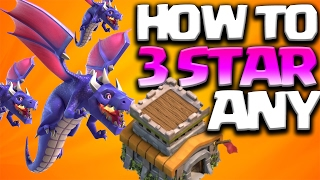 How to 3 Star Any TH8 Base With Dragons ft. Judosloth | Clash of Clans