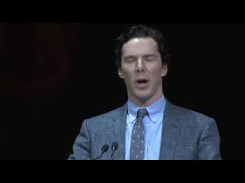 "Benedict Cumberbatch reads Tom Hanks letter to George Roy Hill ""Who is this kid """
