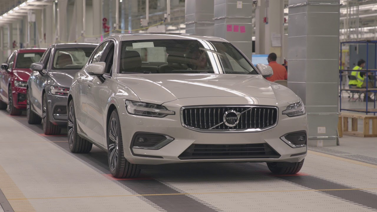 2019 Volvo S60 Made In The Usa Production Facility At Charleston