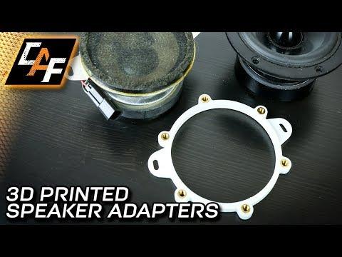3D Printing Custom Speaker Adapters - How to