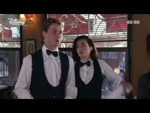 Violetta 3 - Jade und Matias als Kellner im Restaurant (Folge 11)