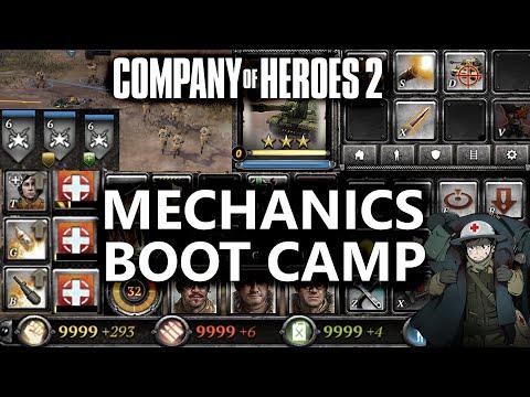 CoH2: Mechanics Boot Camp (Company Of Heroes 2)