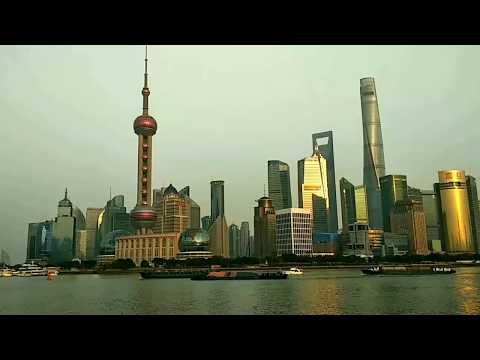 Shanghai Tower - Timelapse - The Shanghai Bund