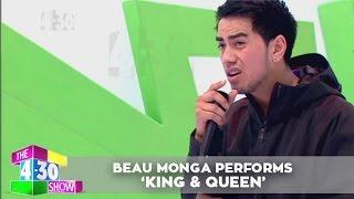 Beau Monga performs