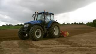 Ward Agri Power Harrowing