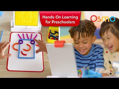 Osmo Little Genius Starter Kit: Hands-on learning for Preschoolers age 3-5