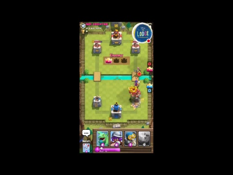 PLAYING CLASH ROYALE FORD THE FIRST TIME: EPISODE 1!