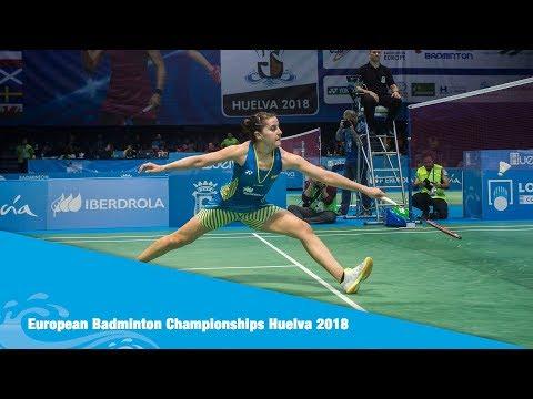 Highlights Day 2  European Badminton Championship Huelva 2018