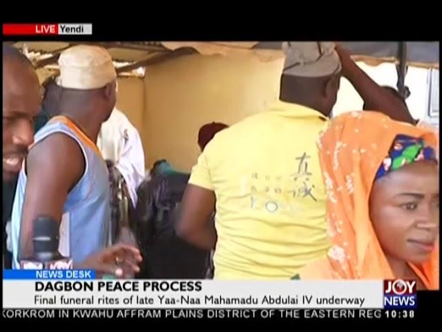 Dagbon Peace Process - News Desk on JoyNews (27-12-18)