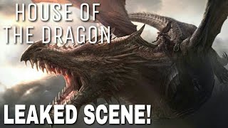 House of the Dragon: Leąked Scene! - The Dragons Are Here!? (Game of Thrones Prequel Series)