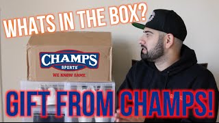 Surprise Unboxing from Champs Sports!
