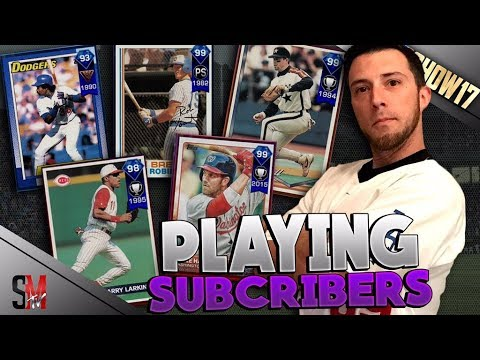 SUBSCRIBER CHALLENGE - PLAYING VIEWERS IN THE CHAT - MLB THE SHOW 17 DIAMOND DYNASTY