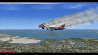 FSX Air India 777-337ER Emergency Landing at JFK