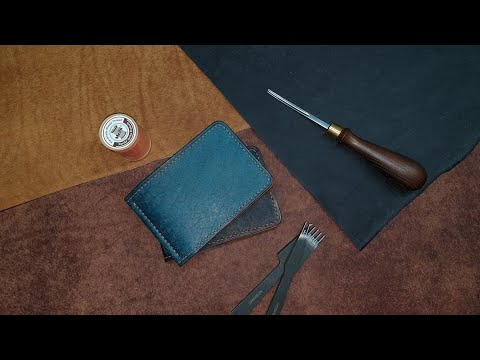Pueblo Vegetable Tanned Leather Wallet. Кошелек ручной работы из кожи Pueblo.
