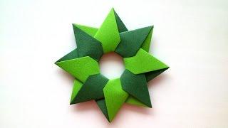 Robin Star of 8 details by Maria Sinayskaya  - Origami Tutoria…
