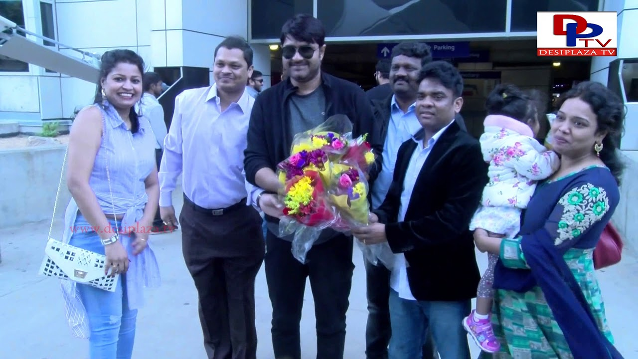 Organisers welcomes all celebrities with bouquets at DFW Airport | MAA Silver Jubilee Event | DPTV