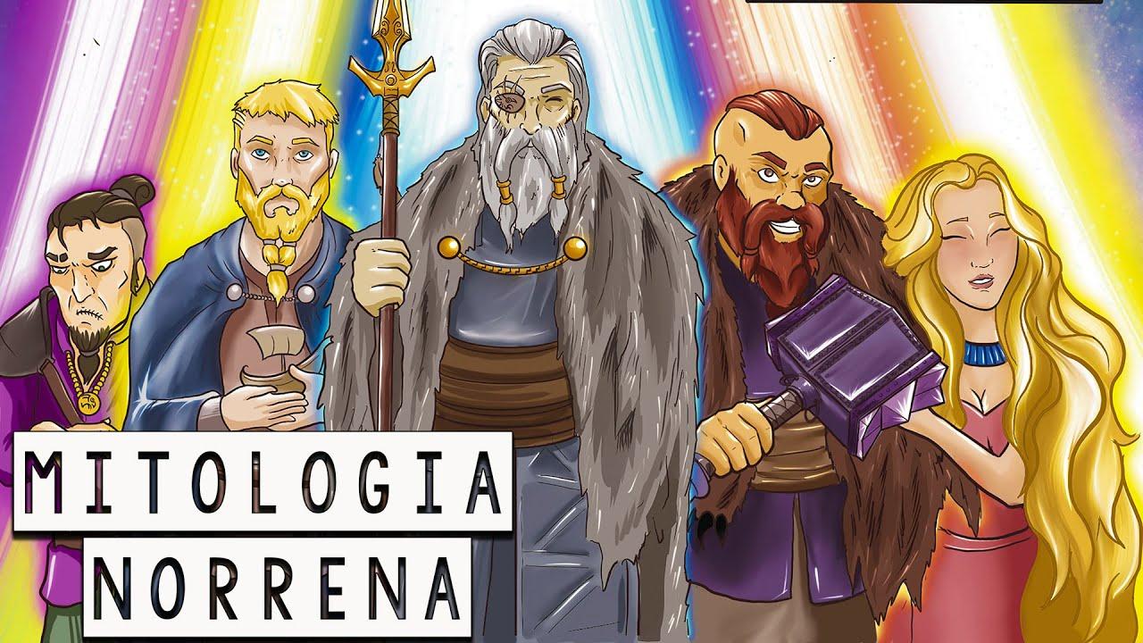 Mitologia Norrena: Loki e i doni degli dei - l'origine del martello di Thor - Storia e Mitologia