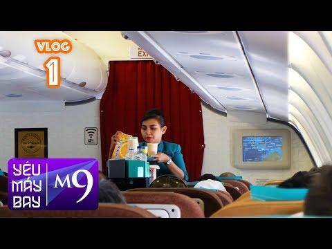 [M9] VLOG #1: Trải nghiệm hàng không 5 sao Garuda Indonesia | Yêu Máy Bay