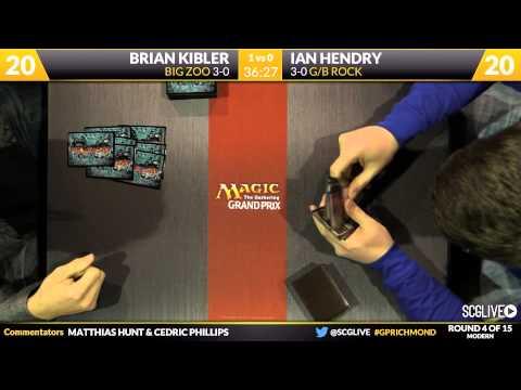 GPRichmond - Round 4 - Brian Kibler vs Ian Hendry