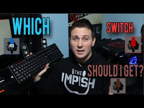 Which Mechanical Keyboard Should I Get For Gaming? Blues Vs Browns Vs Reds (+Clears/Greens/Blacks)