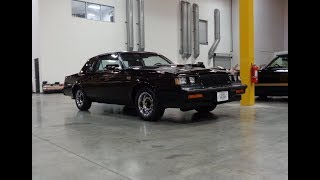 1987 Buick Grand National under 10K original miles & Engine Sound on My Car Story with Lou Costabile