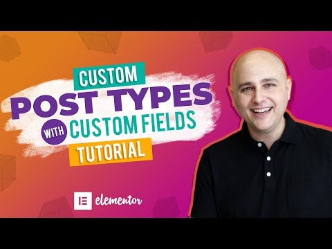 How To Create Custom Post Types & Custom Fields WordPress Tutorial