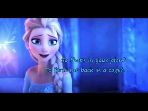 Life's Too Short ~ Karaoke (Outtake) Sing As Both Anna & Elsa (no voices at all)