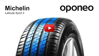 Tyre Michelin Latitude Sport 3 ● Summer Tyres ● Oponeo™