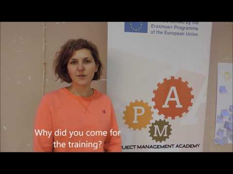 Project Management Academy: Impressions from Sandra, Macedonia