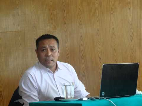 Dr. Tsering Topgyal's (University of Birmingham) talk at the Tibet Policy Institute