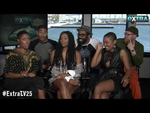 'Extra' Comic-Con Moment! Watch 'Supergirl' Cast Crash Our Interview with 'Black Lightning'