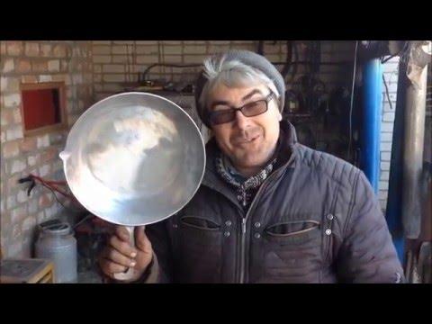 Как восстановить алюминиевую сковороду