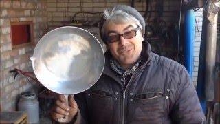 как сделать старую сковороду новой! - how to make the old frying pan new!