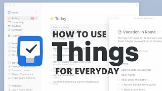Get Started with Things 3 | Everyday tasks