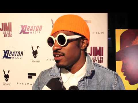 Andre 3000 Interview Jimi: All is By My Side