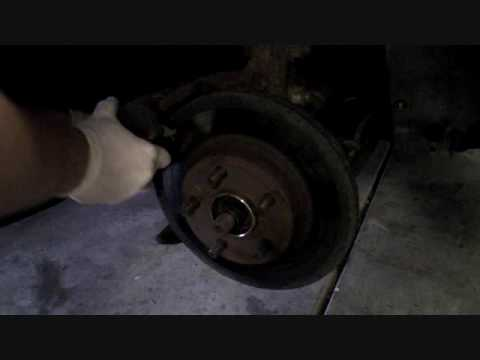 How to change front brake rotors on most cars! Pontiac Grand Am example